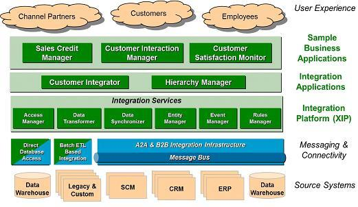 Customer Information Management Architecture to manage complex data