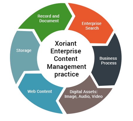 Enterprise content management practice