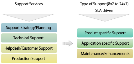 Technical support offerings